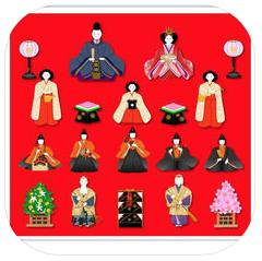 iPhoneアプリ「hinadan」ダウンロード