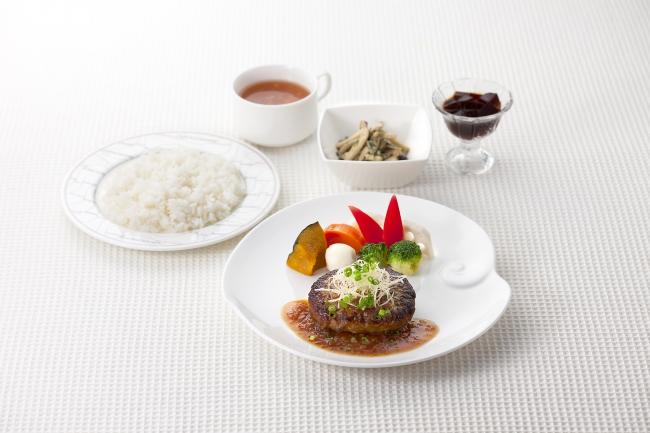 「ダブルジンジャー霧島黒豚ハンバーグセット」(1,580円)