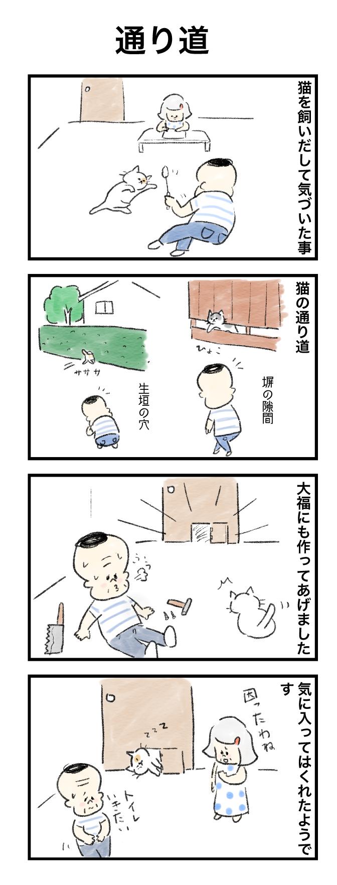 今日の泉谷さん【38】 作:カワサキヒロシ「通り道」