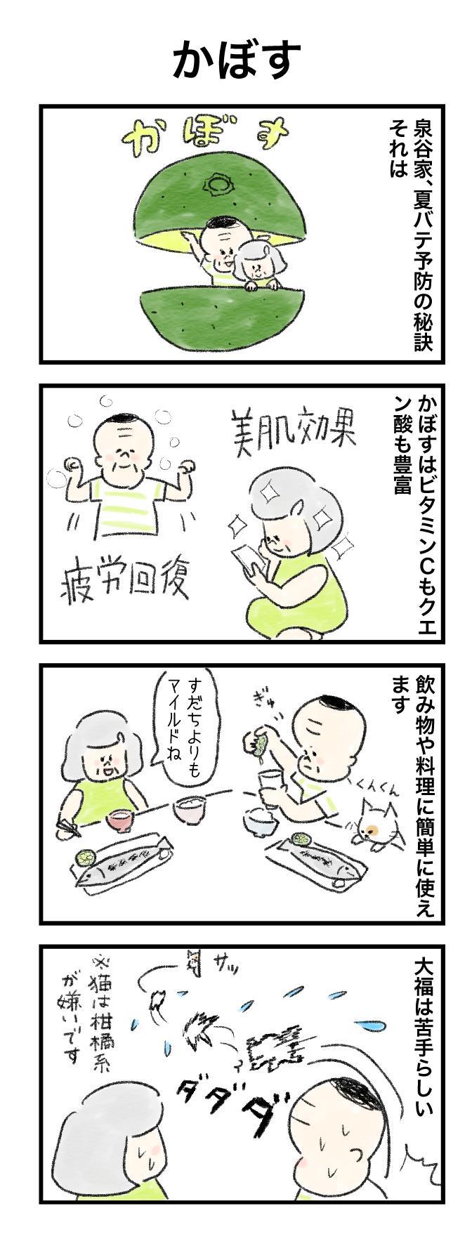 今日の泉谷さん【43】 作:カワサキヒロシ「かぼす」