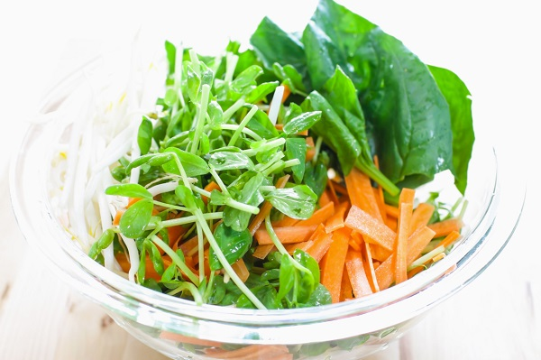 ルテインの摂取には食事が肝要!緑黄色野菜を取り入れよう